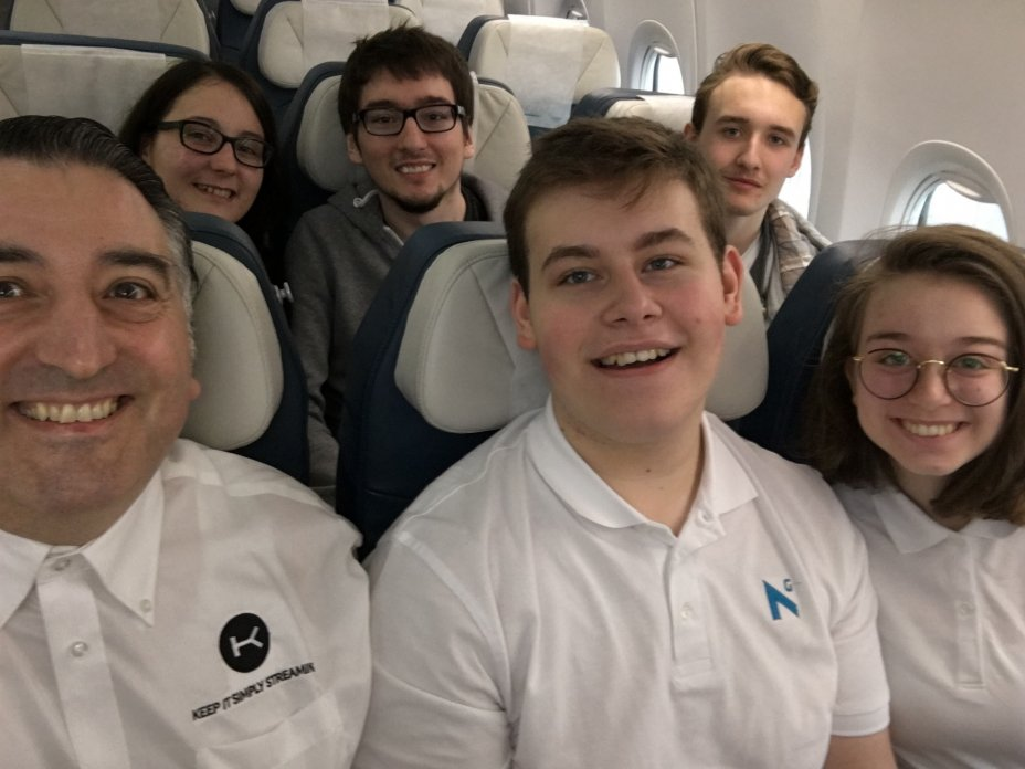 NG Trip to CEBIT with Internship Students